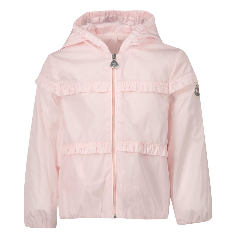 Afbeelding van Moncler 1A70810 babyjas licht roze