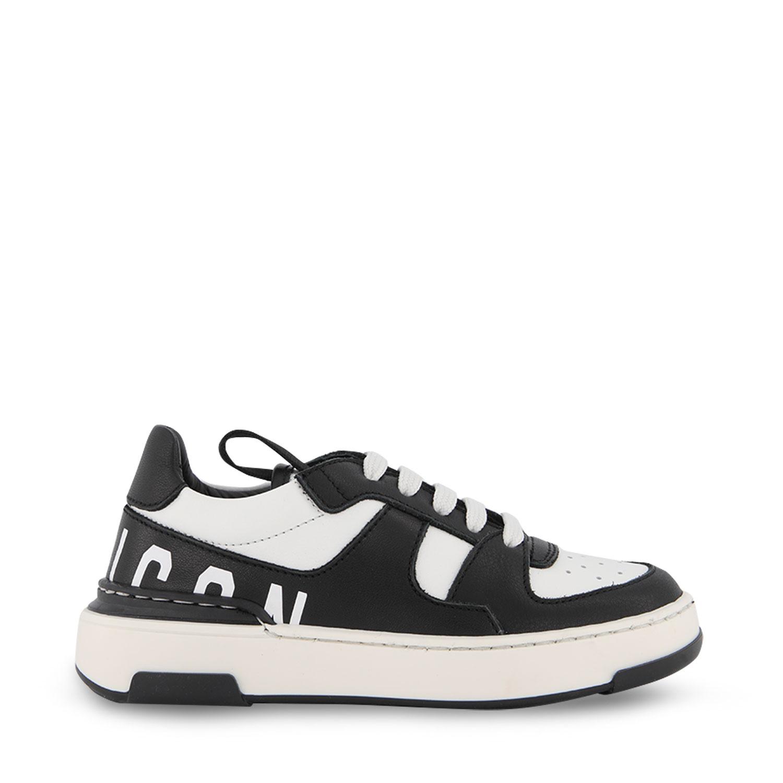 Afbeelding van Dsquared2 68666 kindersneakers zwart/wit