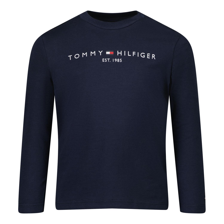 Afbeelding van Tommy Hilfiger KN0KN01249 baby t-shirt navy