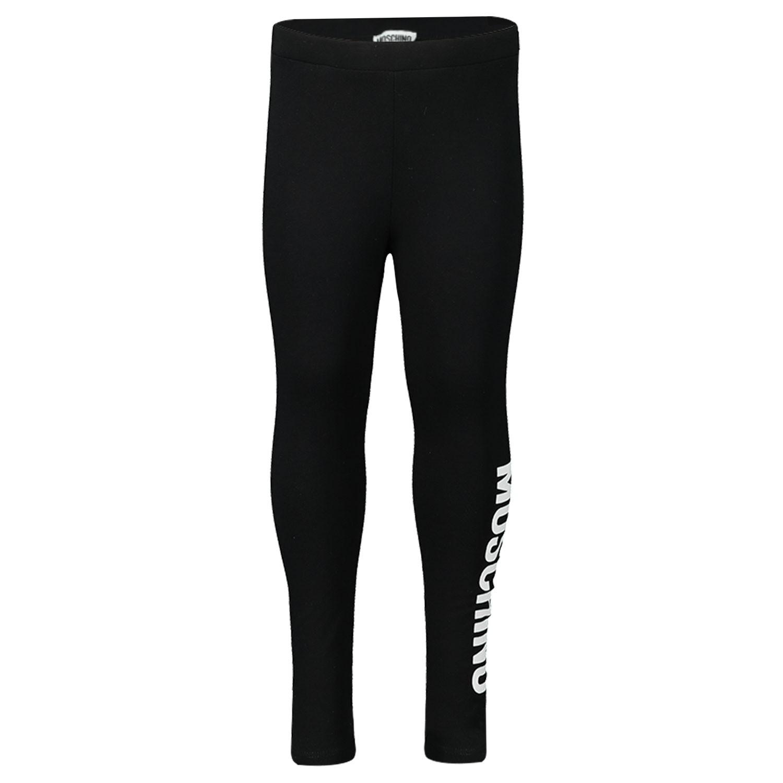 Afbeelding van Moschino MFP02B baby legging zwart