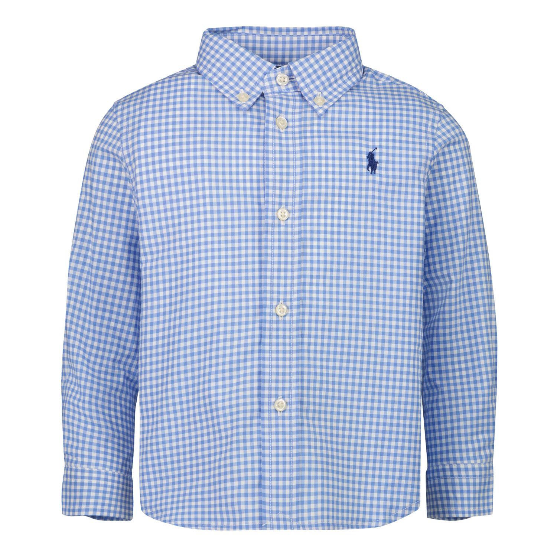 Afbeelding van Ralph Lauren 320833517 baby blouse blauw