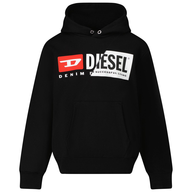 Afbeelding van Diesel J00095 kindertrui zwart