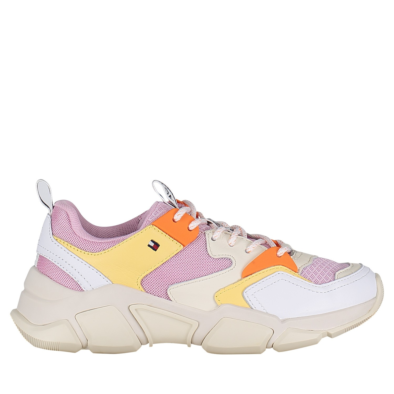 Afbeelding van Tommy Hilfiger FW0FW04065 dames sneakers roze