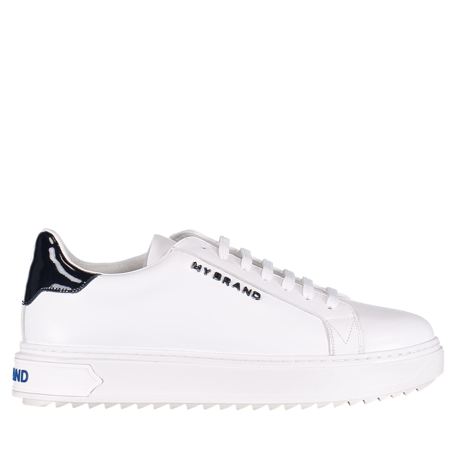 Picture of My Brand MMBSN012LO001 mens sneakers white