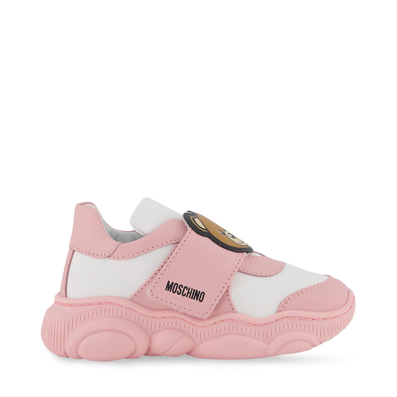 Afbeelding van Moschino 68783 kindersneakers licht roze