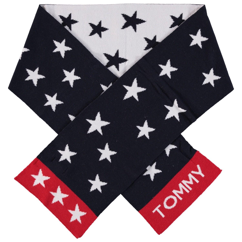 Afbeelding van Tommy Hilfiger AUOAU00293 kinder sjaal navy