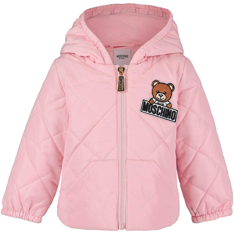 Afbeelding van Moschino MUS01E babyjas licht roze