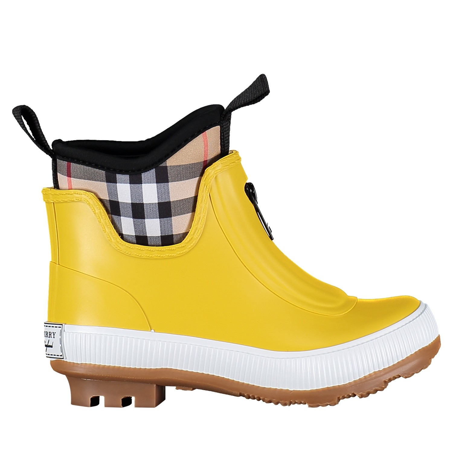 Picture of Burberry 4075993 kids boots yellow