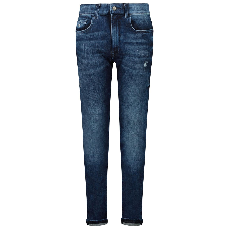 Afbeelding van Calvin Klein IB0IB00736 kinderbroek jeans