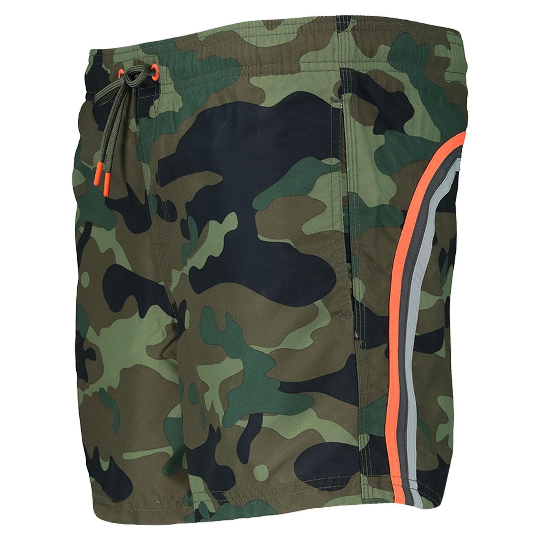 Army Zwembroek.Sundek M504bdp0153 Heren Heren Zwembroek Army Bij Coccinelle