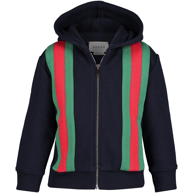 Afbeelding van Gucci 516307 baby vest blauw