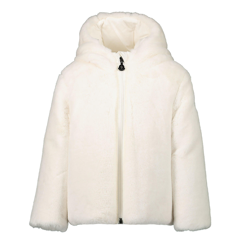 Afbeelding van Moncler 1A53710 babyjas off white