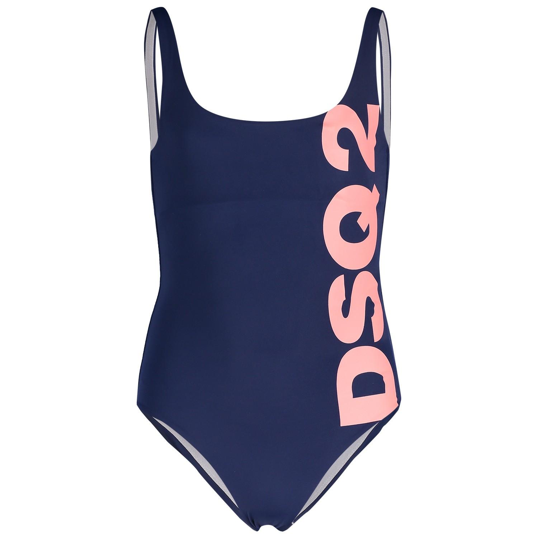 Picture of Dsquared2 DQ03E3 kids swimwear navy