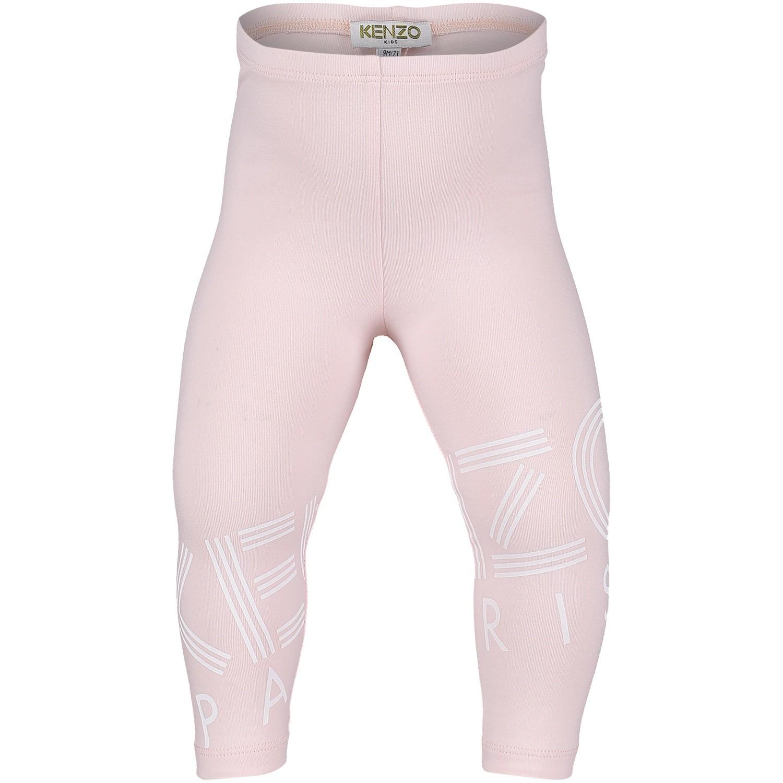 Afbeelding van Kenzo KM24007 baby legging licht roze