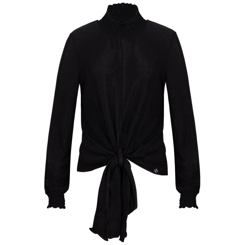 Afbeelding van Jacky Luxury JGFF19010 kinder t-shirt zwart