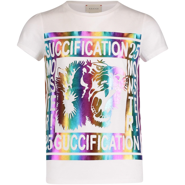 Afbeelding van Gucci 526763 kinder t-shirt wit