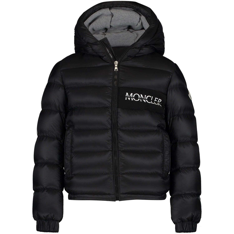 Afbeelding van Moncler 4032805 kinderjas zwart