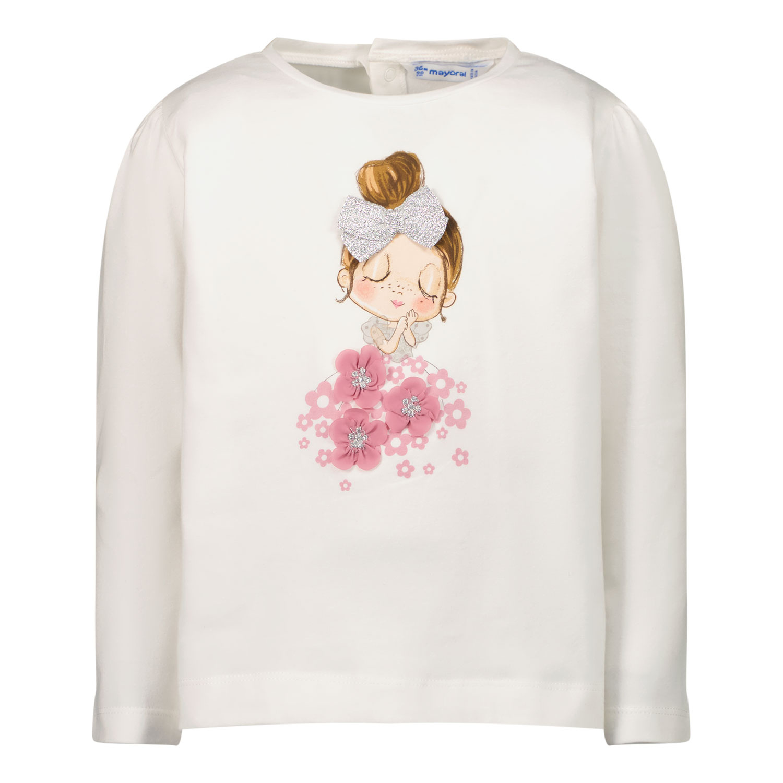 Afbeelding van Mayoral 2083 baby t-shirt off white