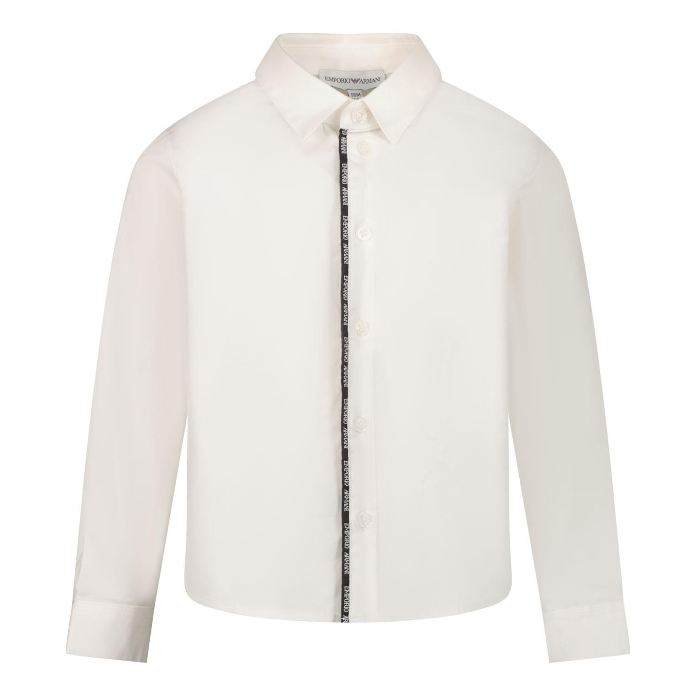 Afbeelding van Armani 6KHC68 baby blouse wit