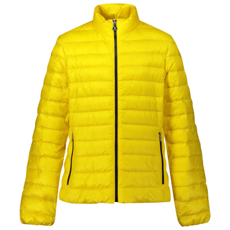 Afbeelding van Moncler 1A12710 kinderjas geel