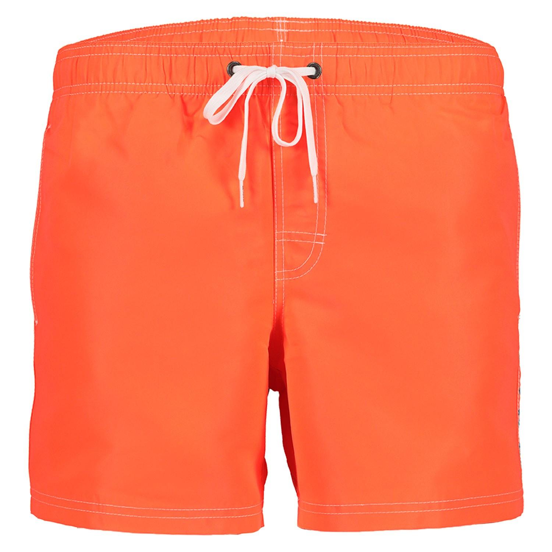 Sundek Zwembroek.Sundek M504bdta100 Heren Heren Zwembroek Fluor Oranje Bij Coccinelle