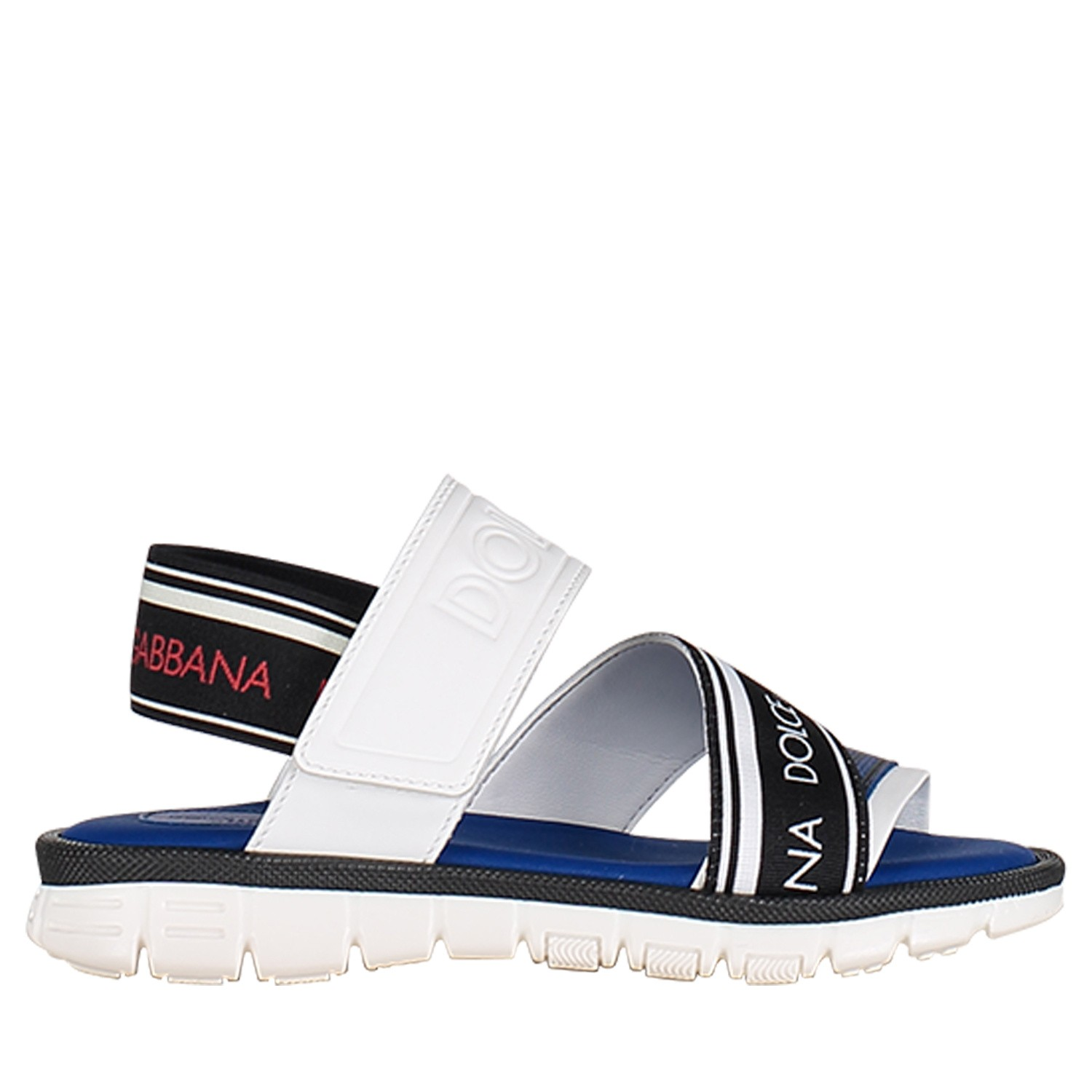 Picture of Dolce & Gabbana DA0704 kids sandals white