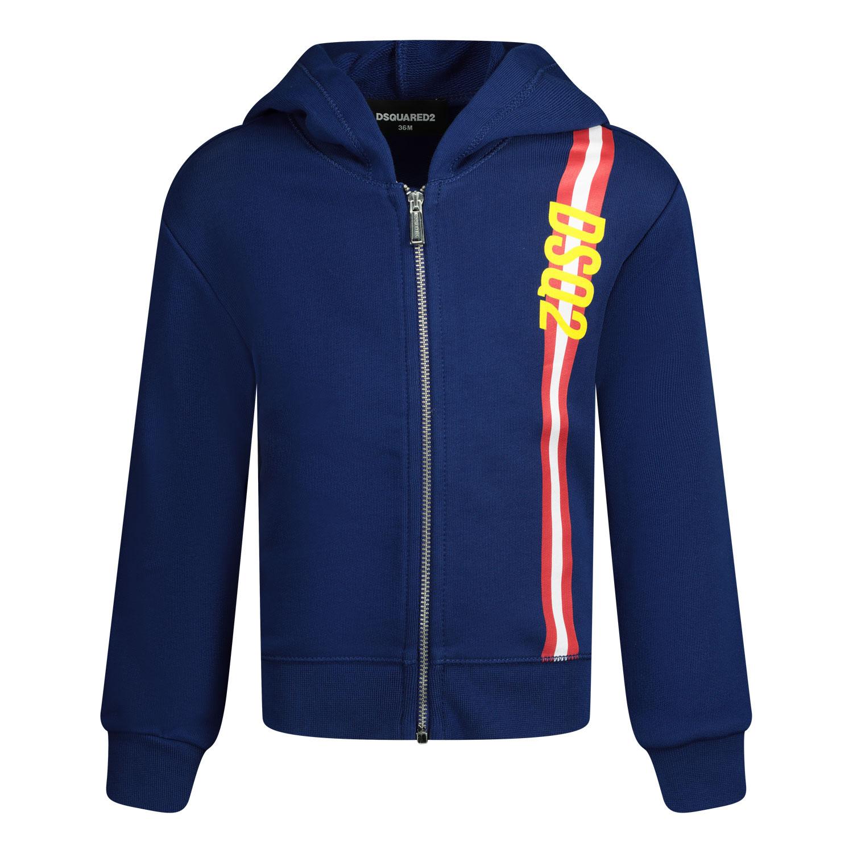 Afbeelding van Dsquared2 DQ0188 baby vest blauw
