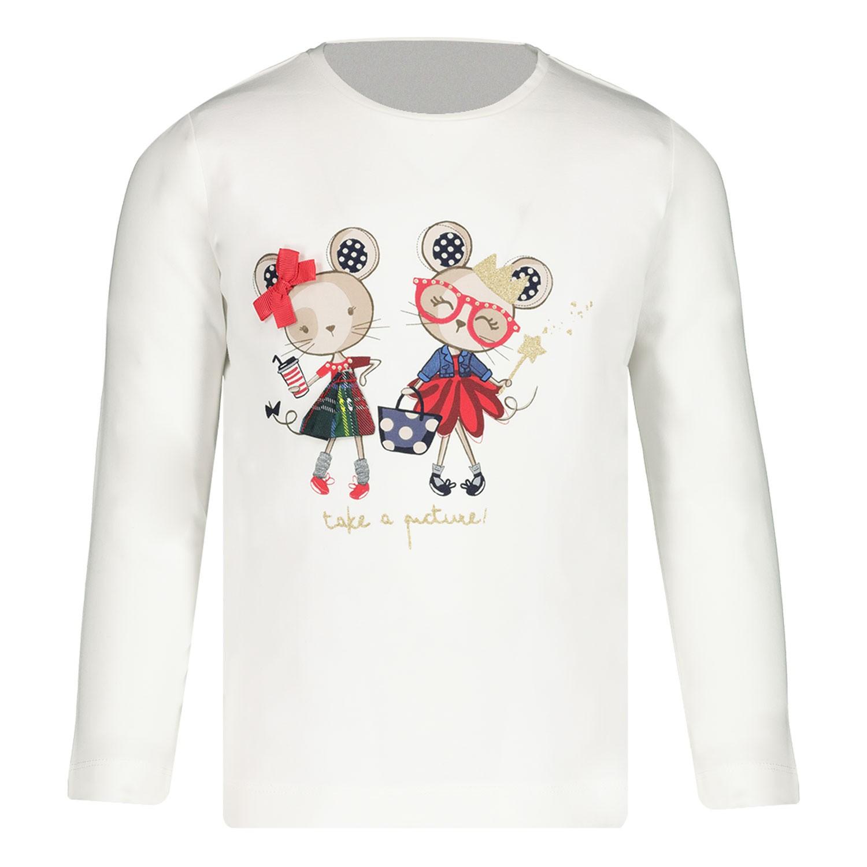 Afbeelding van Mayoral 2010 baby t-shirt ecru