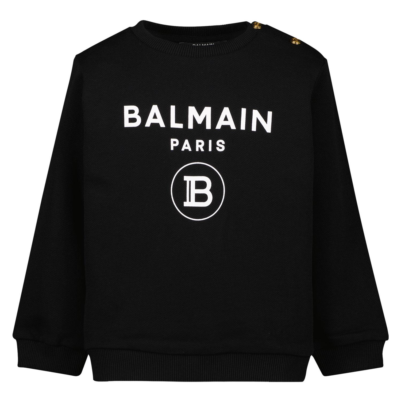 Afbeelding van Balmain 6O4A10 baby trui zwart