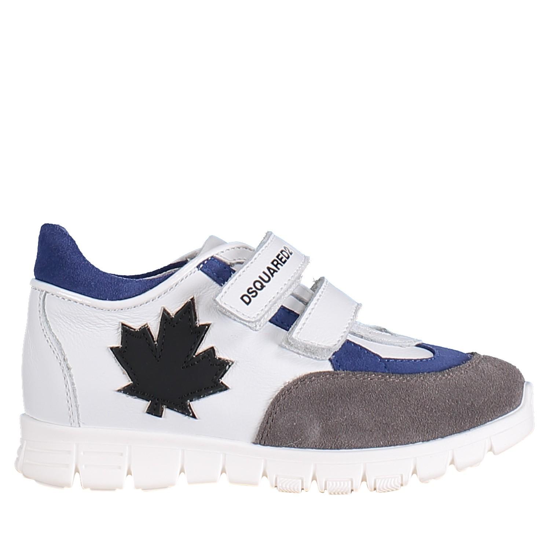 Afbeelding van Dsquared2 59692 kindersneakers wit