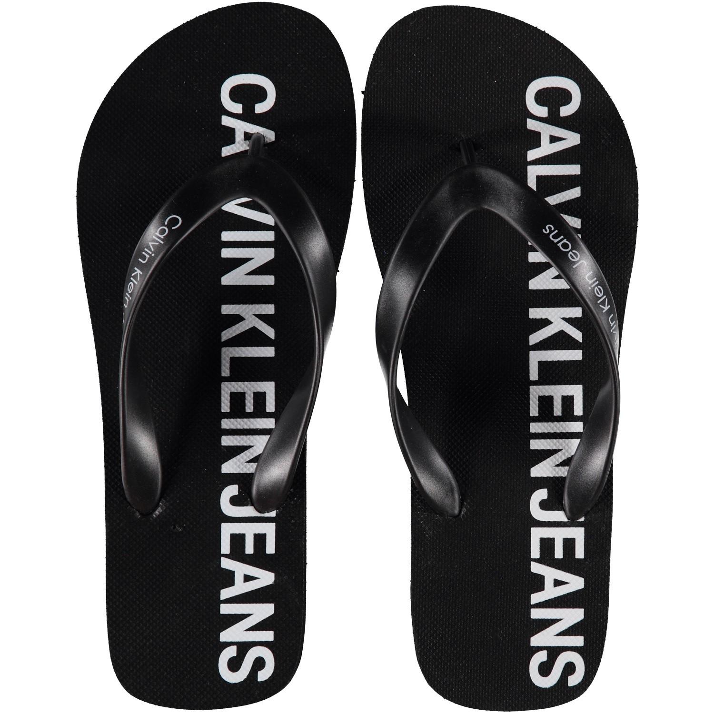 Afbeelding van Calvin Klein ERROL heren slippers zwart