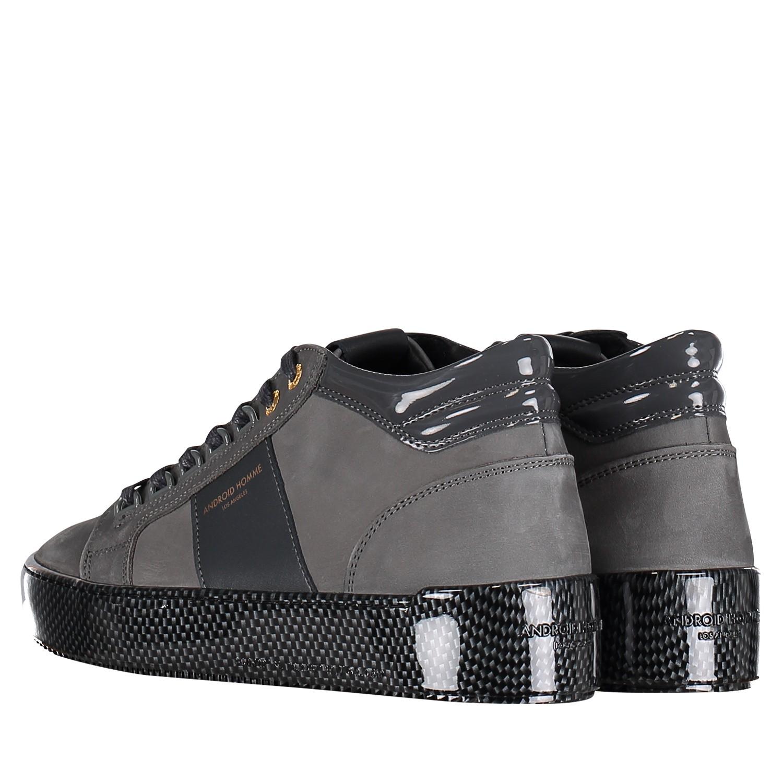 4c670479488 Android Ahp19118 heren heren sneakers donker grijs bij Coccinelle