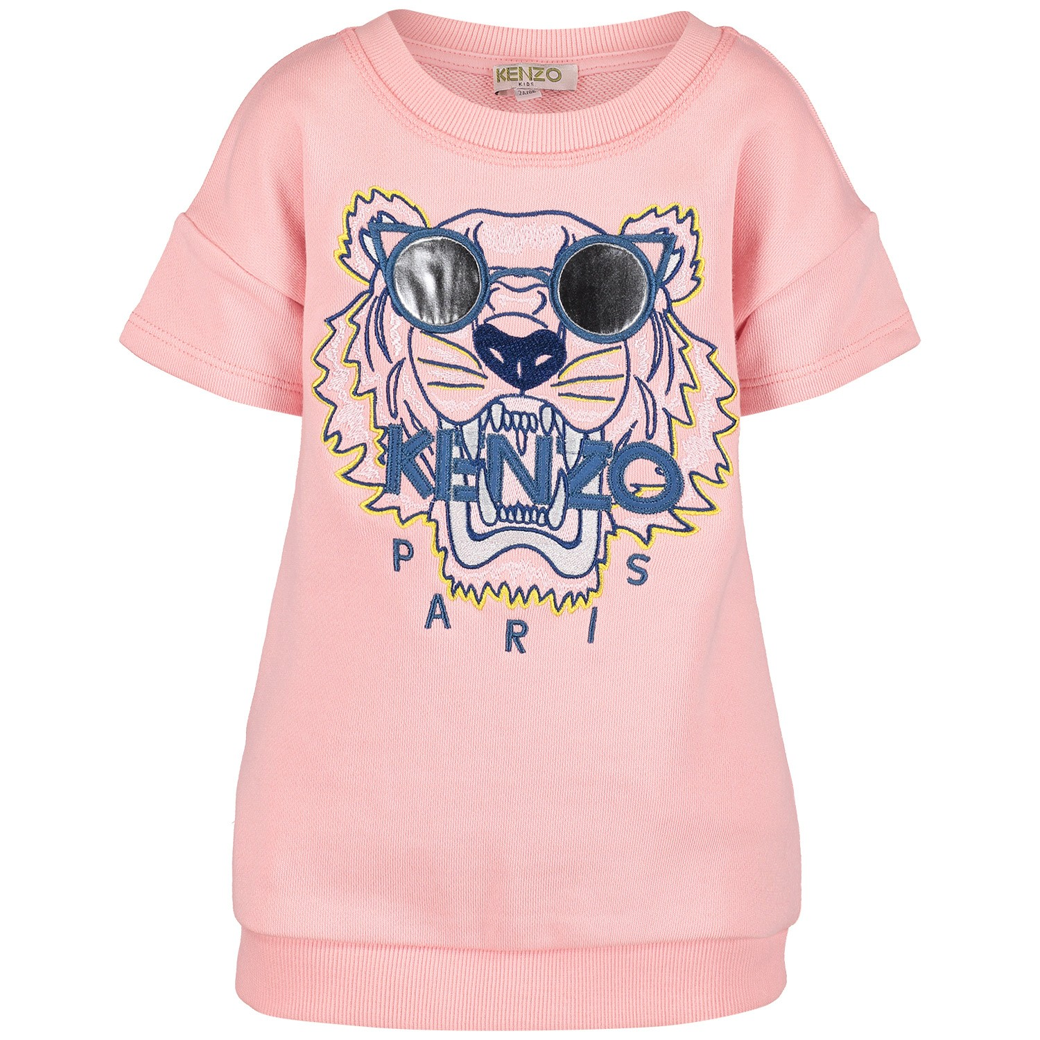 Picture of Kenzo KN30168BB baby dress light pink