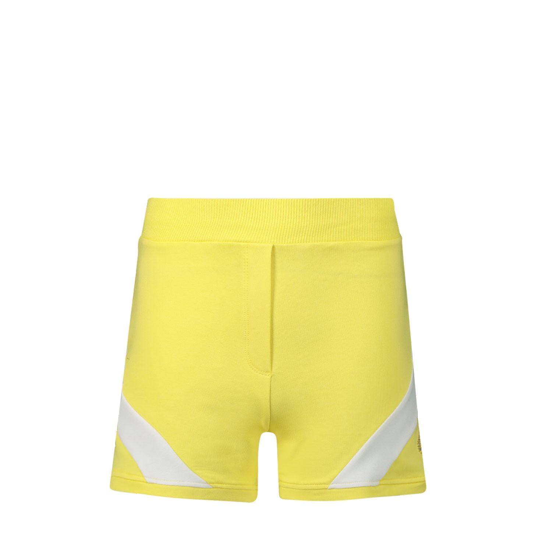Afbeelding van MonnaLisa 195416RK kinder shorts geel