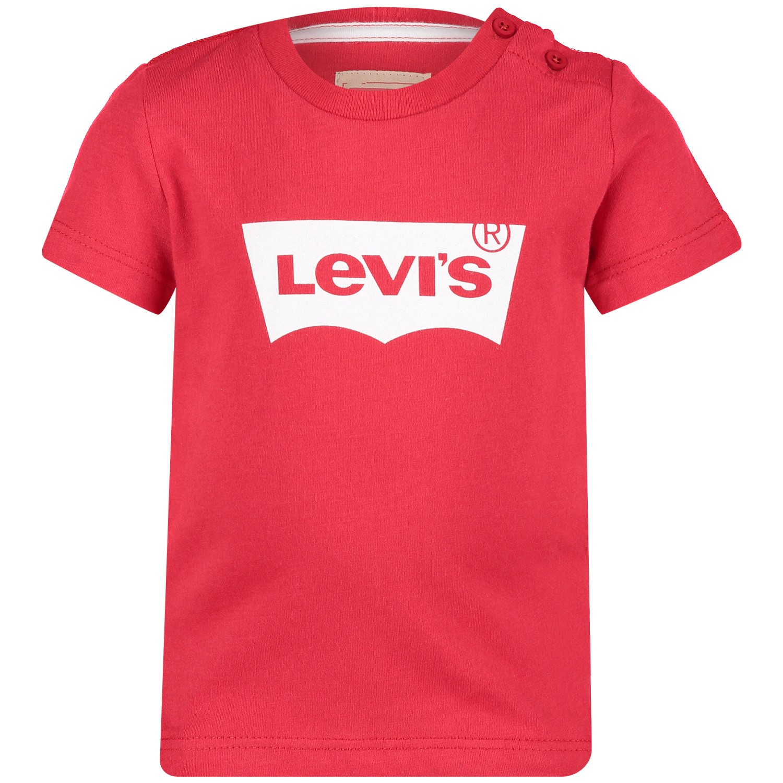 Afbeelding van Levi's NN10124 baby t-shirt rood