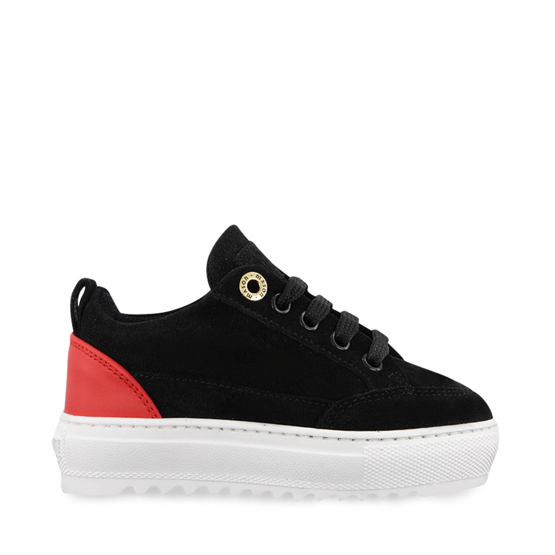 Afbeelding van Mason Garments SS20B20NOS2 kindersneakers zwart