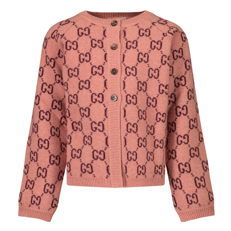 Afbeelding van Gucci 621874 baby vest licht roze