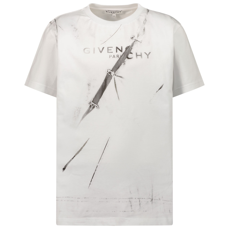 Afbeelding van Givenchy H25301 kinder t-shirt wit