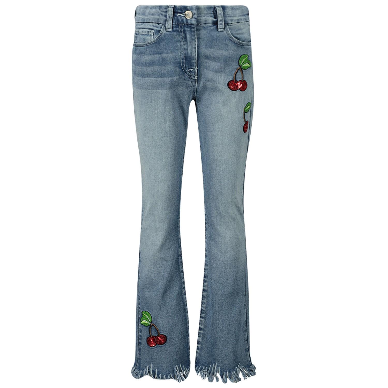 Afbeelding van MonnaLisa 195412RF kinderbroek jeans