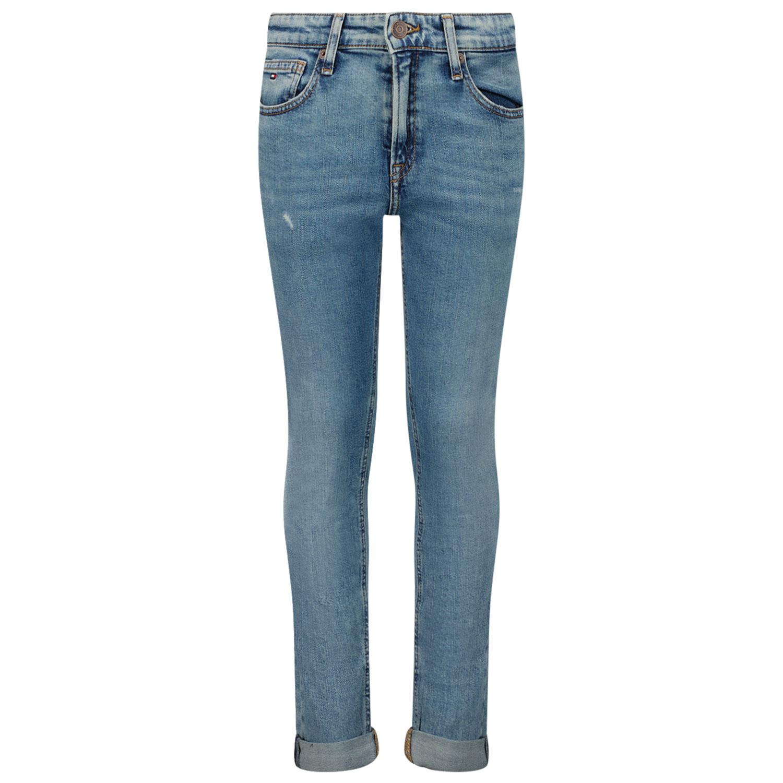 Afbeelding van Tommy Hilfiger KB0KB06298 kinder jeans jeans