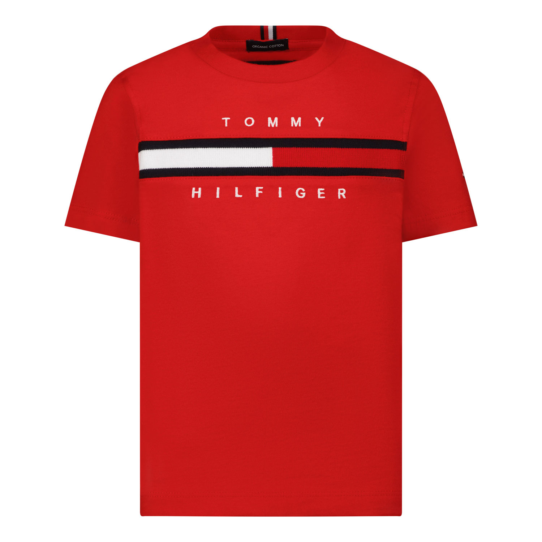 Afbeelding van Tommy Hilfiger KB0KB06532 B baby t-shirt rood