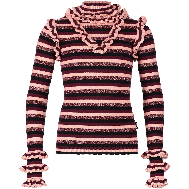 Afbeelding van Reinders VEW18G423B kinder t-shirt bordeaux