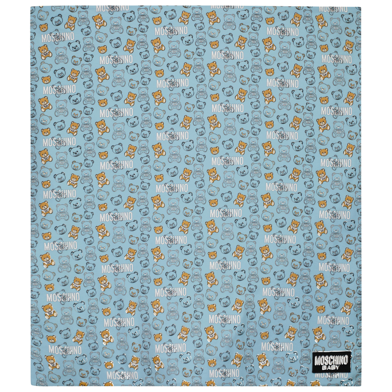Afbeelding van Moschino MUB007 babyaccessoire licht blauw