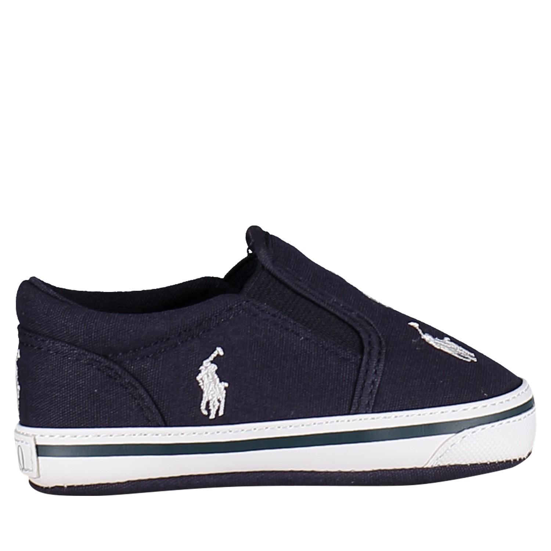 Picture of Ralph Lauren 25821 baby sneakers navy
