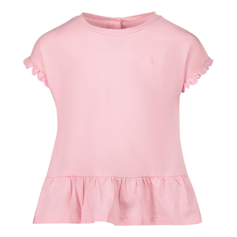 Afbeelding van Ralph Lauren 310835111 baby t-shirt roze