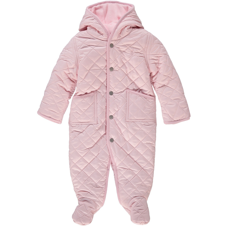 Picture of Ralph Lauren 310700281 baby coat light pink