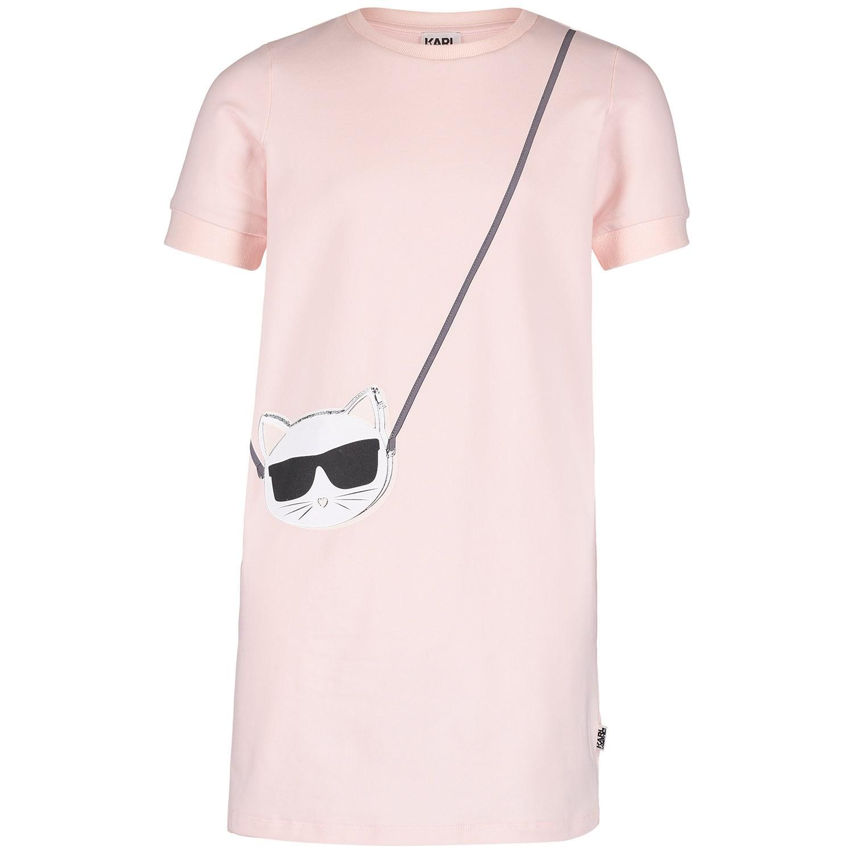 dc1fd6af9 Picture of Karl Lagerfeld Z12104 kids dress light pink