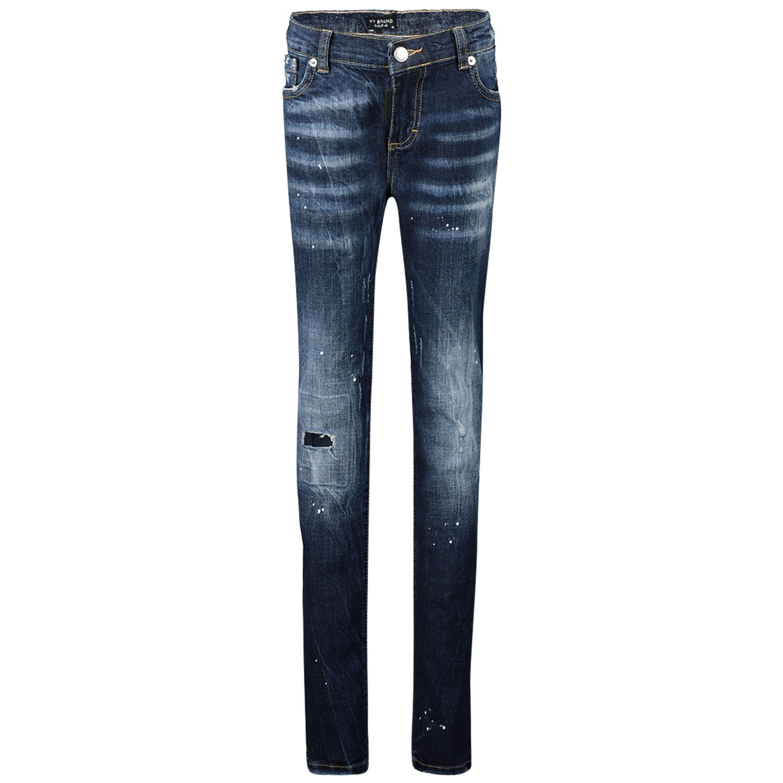 Afbeelding van My Brand BMBJE001G3068 kinderbroek jeans