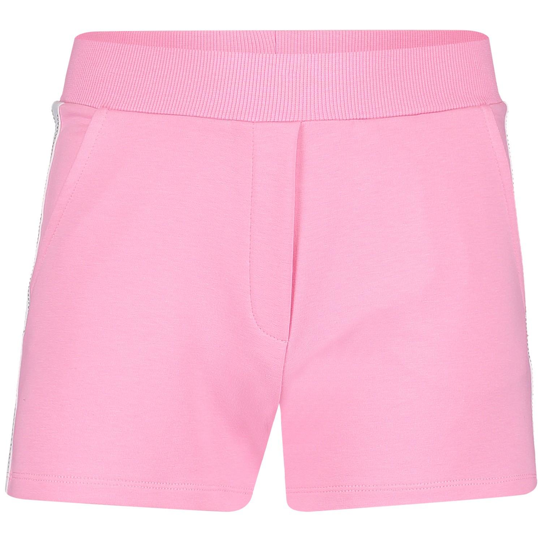 Afbeelding van MonnaLisa 173409AA kinder shorts roze