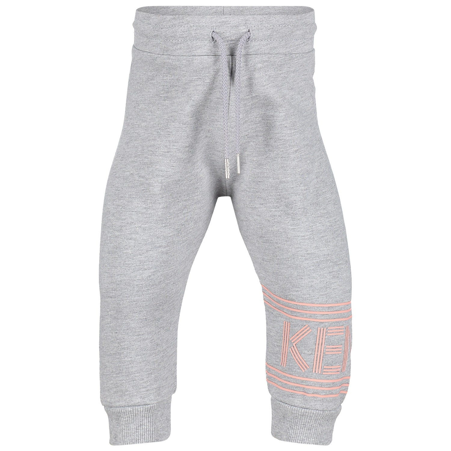Picture of Kenzo KN23027 baby pants light gray